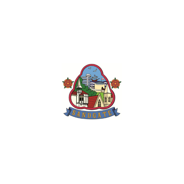 Sandgate Parish Council logo / arms