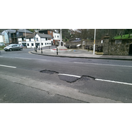 Sandgate High Street potholes