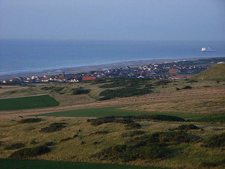 View of Sangatte Blériot Plage from Cap Blanc-Nez (http://en.wikipedia.org/wiki/User:Bodoklecksel)