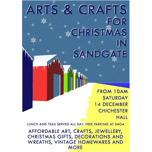 Sandgate Art and Craft Fair poster